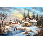 Grafika-Kids-01909 Pièces XXL - Dennis Lewan - A Mid-Winter's Eve