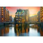 Grafika-Kids-01917 Deutschland Edition - Hamburg, Alte Speicherstadt