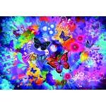 Grafika-Kids-02013 Fleurs et Papillons Colorés