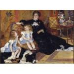 Grafika-Kids-02040 Auguste Renoir - Madame Charpentier et ses Enfants, 1878