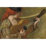 Grafika-Kids-02049 Auguste Renoir - Jeune Espagnole avec une Guitare