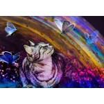 Grafika-Kids-02056 Le Chat et les Papillons