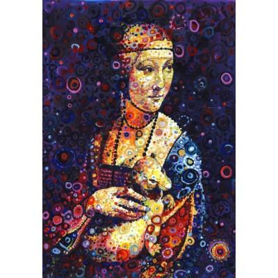 Grafika-Kids-02067 Leonardo da Vinci: Lady with an Ermine, by Sally Rich