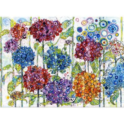 Grafika-Kids-02077 Sally Rich - Summer Hydrangeas
