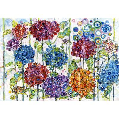 Grafika-Kids-02078 Sally Rich - Summer Hydrangeas