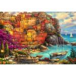 Grafika-Kids-02105 Chuck Pinson - A Beautiful Day at Cinque Terre