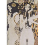 Grafika-00011 Gustav Klimt : Les Gorgones - 1902