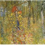 Grafika-00012 Gustav Klimt : Jardin au Crucifix, 1911-1912