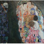 Grafika-00014 Gustav Klimt : La Vie et la Mort, 1916