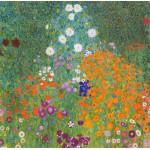 Grafika-00023 Gustav Klimt : Jardin fleuri, 1905-1907