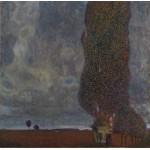 Grafika-00026 Gustav Klimt : Le Grand Peuplier II - 1902