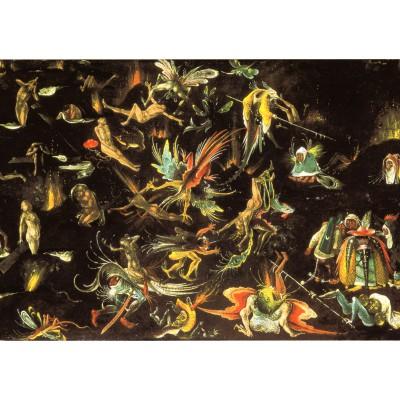 Grafika-00028 Jérôme Bosch : Le Jugement Dernier (Détail) 1506 - 1508