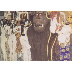 Grafika-00029 Gustav Klimt : Frise de Beethoven