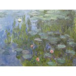 Grafika-00034 Claude Monet : Nymphéas, 1915