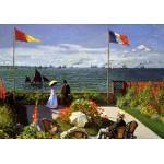 Grafika-00036 Claude Monet : Terrasse à Sainte-Adresse, 1867