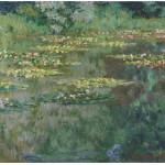 Grafika-00040 Claude Monet : Le Bassin aux Nymphéas