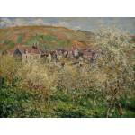 Grafika-00041 Claude Monet : Pruniers en Fleur, 1879