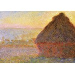 Grafika-00043 Claude Monet : Meules, Soleil Couchant, 1891
