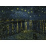 Grafika-00052 Vincent Van Gogh : La Nuit Etoilée, 1888
