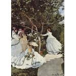 Grafika-00056 Claude Monet : Femmes au Jardin, 1866