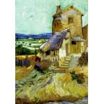 Grafika-00063 Vincent Van Gogh : Le Vieux Moulin, 1888