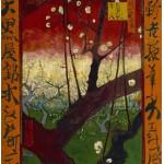 Grafika-00064 Vincent Van Gogh : Japonaiserie: Le Prunier en Fleurs, 1887