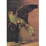 Grafika-00067 Vincent Van Gogh : Le Perroquet Vert, 1886