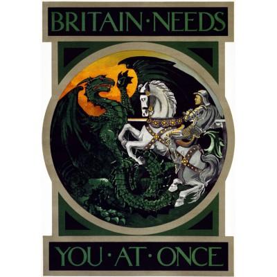 Grafika-00076 Affiche de Recrutement de l'Armée Britanique, 1915