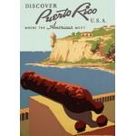 Grafika-00093 Affiche de Promotion pour le Tourisme à Porto Rico, 1936-1940