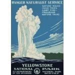 Grafika-00097 Affiche pour Le Parc National de Yellowstone, USA, 1938