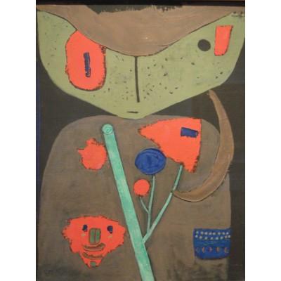 Grafika-00104 Paul Klee : Figure du Théâtre Oriental, 1934