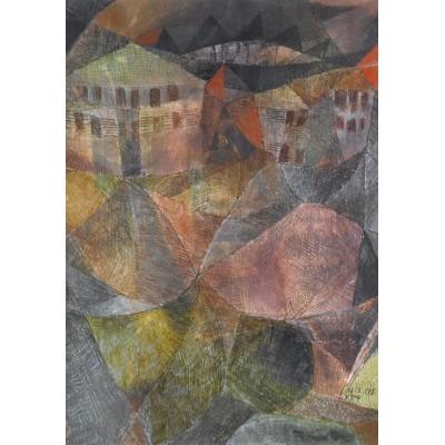 Grafika-00105 Paul Klee : L'Hôtel, 1913