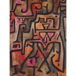 Grafika-00111 Paul Klee : Sorcières de la forêt, 1938