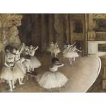 Grafika-00134 Edgar Degas : Répétition d'un Ballet sur la Scène, 1874