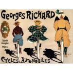Grafika-00137 Affiche de Fernand Fernel pour la Société des Cycles Georges Richard, 1896