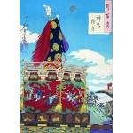 Grafika-00140 Estampe Japonaise, Tsukioka Yoshitoshi, XIXe Siècle