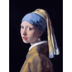 Grafika-00144 Vermeer Johannes : La Jeune Fille à la Perle, 1665