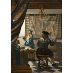 Grafika-00145 Vermeer Johannes : L'Art de la Peinture, 1666