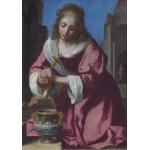 Grafika-00146 Vermeer Johannes : Sainte Praxède, 1655