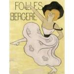 Grafika-00152 Affiche de Leonetto Cappiello : Les Folies Bergères, 1900