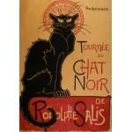 Grafika-00154 Théophile-Alexandre Steinlen : Affiche de la Tournée du Chat Noir, 1896