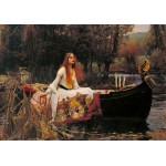 Grafika-00157 Waterhouse John William : The Lady of Shalott, 1888