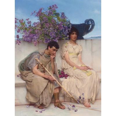 Grafika-00160 Sir Lawrence Alma-Tadema : An eloquent silence