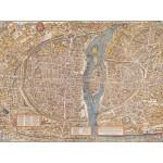 Grafika-00163 Olivier Truschet et Germain Hoyau : Plan de Paris du milieu du XVIe Siècle