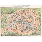 Grafika-00164 Plan de Paris Monumental, 1900