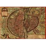 Grafika-00165 Braun : Plan de Paris, 1572