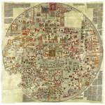Grafika-00167 La Carte d'Ebstorf - Mappemonde du XIIe Siècle