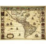 Grafika-00168 Willem Janszoon Blaeu : Carte de l'Amérique en 1645
