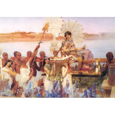 Grafika-00169 Sir Lawrence Alma-Tadema : The Finding of Moses