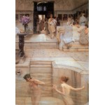 Grafika-00171 Sir Lawrence Alma-Tadema : A Favourite Custom, 1909